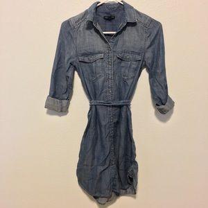 American Eagle Outfitters Denim Short Dress XXS